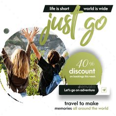 Travel - Tours Social Media Post and Stories Social Media Quotes, Social Media Ad, Social Media Banner, Travel Ads, Travel Tours, Travel Posters, Travel Destinations, Travel Brochure Design, Food Web Design