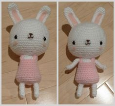 Knitted Bunny - sweet but too hard for me