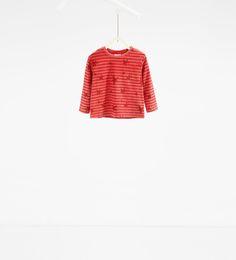 Imagen 1 de Camiseta rayas y estrellas de Zara