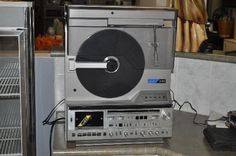 x10 Mitsubishi Upright Record Player (Item# 5102) - Yarragon Auction House - GippsWares - Secondhand goods