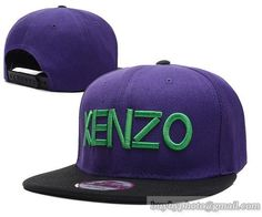 Kenzo Snapback Purple|only US$8.90,please follow me to pick up couopons.