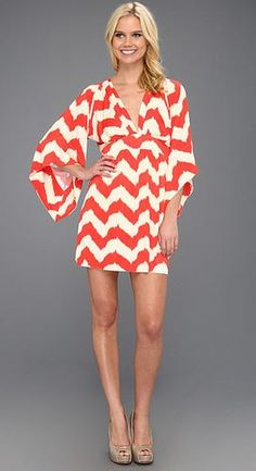Chevron plus orange= summer cuteness
