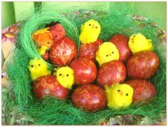 Farbanje uskrsnjih jaja: mermerna jaja