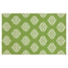 Check out this item at One Kings Lane! Notaro Flat-Weave Rug, Peridot