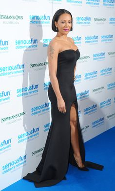 Melanie Brown Photos Photos - Melanie Brown attends the Serious Fun Gala at The Roundhouse on November 2014 in London, England. Mel Brown, Famous Girls, Voluptuous Women, Spice Girls, Celebs, Celebrities, Opening Ceremony, Hollywood Glamour, Strapless Dress Formal