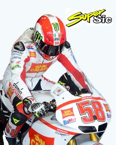 Marco Simoncelli is..
