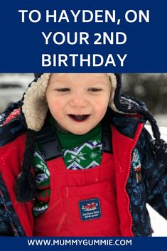 A letter to my son on his Birthday, all about how he is getting on at 2 years old. His favourite things and development. Birthday Letters, Sons Birthday, Letters To My Son, 2 Year Olds, Toddler Boys, Parenting, Mummy Bloggers, Lettering, Children