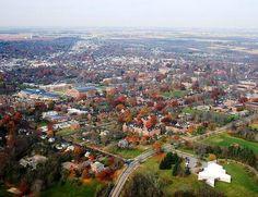 Oxford, Ohio, the quintessential college town. #MiamiOH