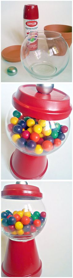 "DIY Gumball ""Machine"" Tutorial"
