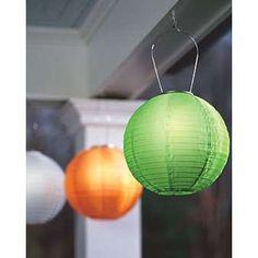 Solar lantern - Great idea for the pool!