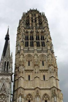 Tour De Beurre -Cathédrale Notre Dame. Rouen. Seine-Maritime. Haute-Normandie