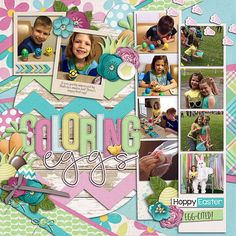 Cindy's single 135 - Easter activities hop this way by digilicious design