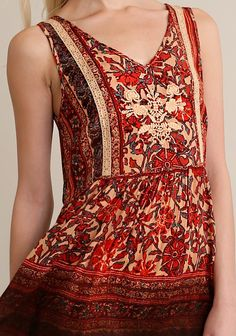 Listen To The Music Printed Dress