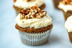 This is our favorite recipe for carrot cake cupcakes! They are made from scratch, easy to make, versatile and utterly delicious. Easy Carrot Cake, Carrot Cake Cupcakes, Baking Cupcakes, Carrot Cakes, Cupcake Cakes, Funnel Cakes, Mini Desserts, Winter Desserts, Christmas Desserts