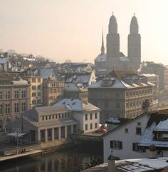 Zurich, Switzerland. -  Think I should check out all things Swiss....chocolate, cheese, watches, etc.  :)