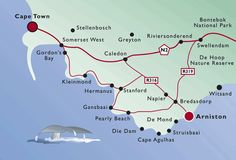 Map and Directions to The Arniston Spa Hotel in Arniston Somerset West, Plan My Trip, Hotel Spa, Beautiful Space, South Africa, National Parks, How To Plan, Beauty, The Moon