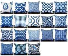 Items similar to Throw Pillow, Pillow Cover, Cushion, Decorative Pillow, Cobalt Marine Blue White geometric modern decor Swiss Cross on Etsy Navy Blue Cushions, Navy Blue Throw Pillows, Blue And White Pillows, Accent Pillows, Toss Pillows, Throw Pillow Covers, Cushion Covers, Fabric Decor, Decoration