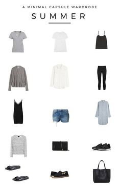 A minimal summer capsule wardrobe | simple style | slow fashion | ethical fashion | simple living | summer outfit ideas | minimalist lifestyle | slow living lifestyle
