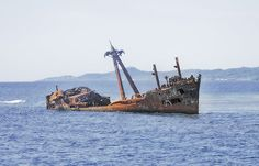 Honduras, Roatàn #2 by foto_morgana, Ship Wreck