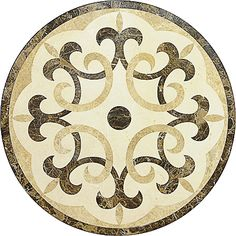 Provence Polished 24x24 Marble Medallions  $245.00/pcs