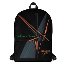 """Rucksack """"You have a Chance"""" by Claruss"""" Laptop, Take That, Backpacks, Bags, Design, Fashion, Accessories, Fashion Styles, Sports Activities"""