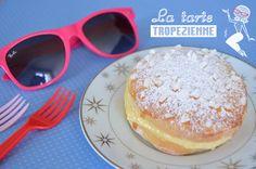 recette de mini tartes tropéziennes : le célèbre gâteau baptisé par Brigitte Bardot. Une brioche fourrée d'une excellente crème à la vanille. Un régal !