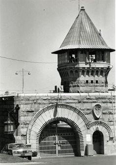 Photo of Folsom Prison gate, 1980s, California