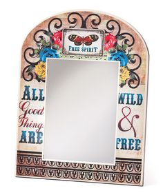 Take a look at this 'All Good Things' Mirror by DEMDACO on #zulily today!