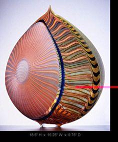 Lino Tagliapietra - Bilbao Series-blown glass art