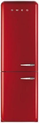 Price tracking for: Smeg 24 50 s Retro Style Bottom Freezer Refrigerator with cu. Capacity No Frost Fast-Freezing Automatic Defrost Adjustable Glass Shelves and LED Interior Lighting: Red with Left - Price History Chart and Drop Alerts Retro Appliances, Kitchen Refrigerators, Retro Fashion 50s, Bottom Freezer Refrigerator, Egg Holder, Kitchen Supplies, Kitchen Essentials, Glass Shelves, Interior Lighting