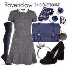 Disney Bound: Ravenclaw from Harry Potter Harry Potter Mode, Harry Potter Cosplay, Harry Potter Style, Harry Potter Outfits, Disney Inspired Outfits, Character Inspired Outfits, Themed Outfits, Disney Outfits, Disney Clothes