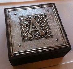 Wooden Box. Repujado