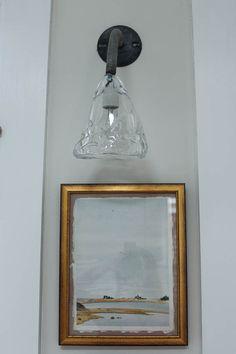 Blown Glass Fixture Sandra Cavallos Home