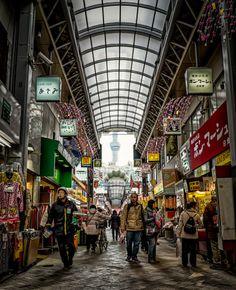 商店街 by Chaz Wright on 500px