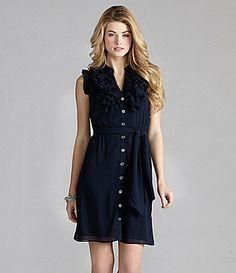 Cremieux Carly Georgette Dress | Dillards.com