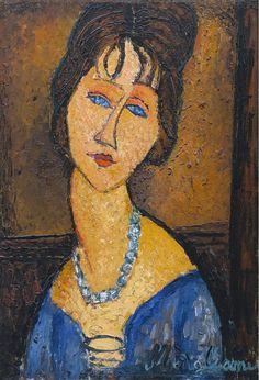 Amedeo Modigliani Jeanne