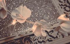 DIY Dainty Floral Twinkle Lights
