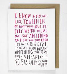 Awkward Dating Card | <3 Emily McDowell
