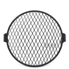High Quality inch Metal Motorcycle Black Front Headlight Lamp Mesh Grille Cover For Harley Honda Cafe Racer Parts