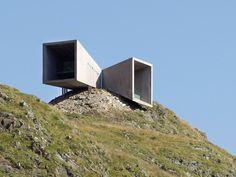 Timmelsjoch Experience architecturall scupltures Tyrol Telescope 02