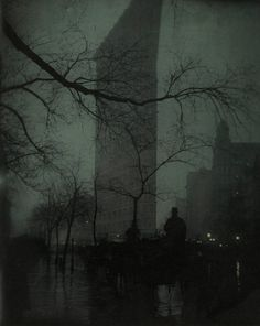Edward Steichen (American, born Luxembourg, 1879–1973),   The Flatiron,   1904,   Gum bichromate over platinum print,   47.8 x 38.4 cm (18 13/16 x 15 1/8 in.),   The Metropolitan Museum of Art, Alfred Stieglitz Collection, 1933