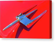 1954 Lincoln Capri Hood Ornament Canvas Print by DK Digital. All canvas prints are professionally printed, assembled, and shipped within 3 - 4 business days and delivered ready-to-hang on your wall. Choose from multiple print sizes, border colors, and canvas materials. classic luxury car photo art #art #automotiveart #canvasprint #artprint #classiccars #luxurycar #Lincoln #hoodornament
