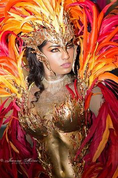 Bacchanalia Mas Band presents The Phoenix for London Notting Hill Carnival 2016 Carribean Carnival Costumes, Carnival Outfits, Caribbean Carnival, Carnival Dancers, Winged Girl, Samba Costume, Notting Hill Carnival, Brazil Carnival, Aztec Culture