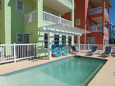 Cowabungalow: home with PRIVATE POOL! Gated Community, Blocks to Beach   Vacation Rental in Port Aransas from @homeaway! #vacation #rental #travel #homeaway