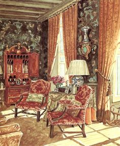 THE GREAT MARK HAMPTON PAINTS | Mark D. Sikes: Chic People, Glamorous Places, Stylish Things