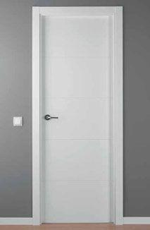 puerta lacada blanca mod. LAC-9004-G Door Design Interior, Exterior Design, Interior And Exterior, Internal Doors Modern, Modern Door, Duplex Design, House Design, Mobile Home Repair, Classic Doors