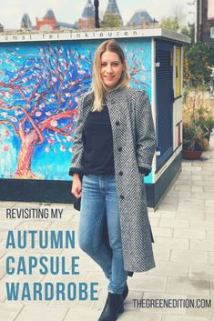 Before I swap out my clothes for winter I always take a moment to consider how the autumn capsule has done. In terms of how the clothes worked together, how many of them I wore and what I will do differently next time.