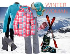 """Winter Woman Ski Fashion"" by trinavokes on Polyvore"