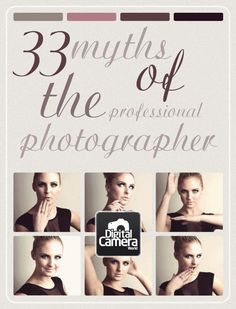 33 myths of the professional photographer