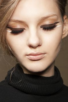 Anya Kazakova. Big eyes, tiny face, so pretty